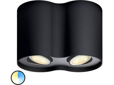 Spot LED Philips Hue Pillar à 2 lampes, variateur