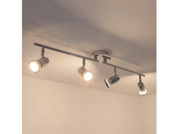 Plafonnier LED GU10 Arminius à 4 lampes– LAMPENWELT.com