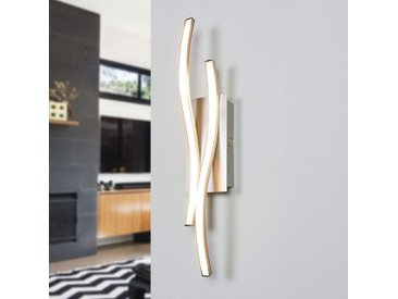 Applique LED Safia, forme ondulée– LAMPENWELT.com