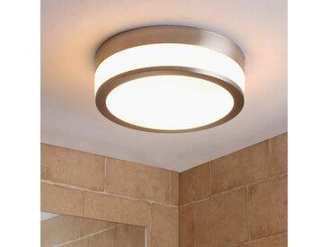 Plafonnier de salle de bain LED Flavi, nickel mat– LAMPENWELT.com