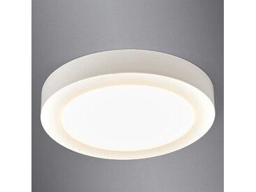 Esra - plafonnier LED blanc, IP44– LAMPENWELT.com
