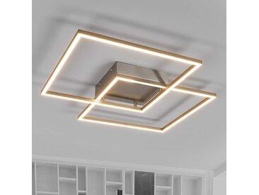 Plafonnier LED Mirac au design intéressant– LAMPENWELT.com