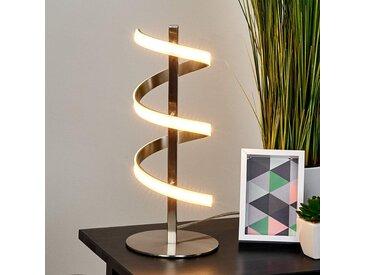Lampe à poser à LED en forme de spirale Pierre– LAMPENWELT.com