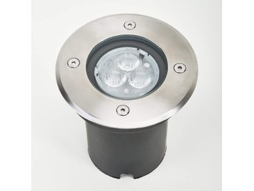 Spot LED Ava encastré dans le sol IP67 rond– LAMPENWELT.com