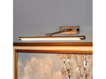 Merte - applique tableau LED en nickel mat– LAMPENWELT.com