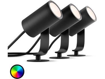 Philips Hue spot LED Lily en set de base de 3