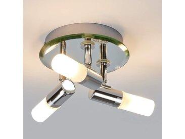 Plafonnier circulaire Jilian pour salle de bains– LAMPENWELT.com