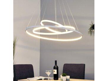 Puissance suspension LED Eline avec 3 anneaux– LAMPENWELT.com