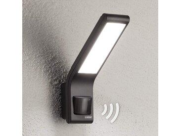Applique LED XLED slim avec détecteur, anthracite