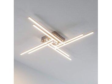 Nikan - plafonnier LED avec 8 tubes– LAMPENWELT.com