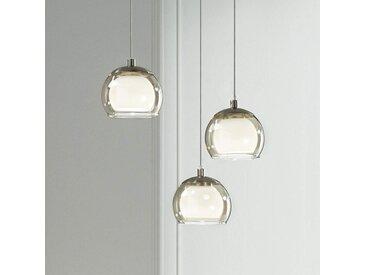 Suspension LED Ascolese à trois lampes