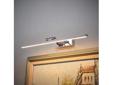 Applique pour tableau LED chromée Elif– LAMPENWELT.com