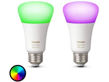 2 ampoules Philips Hue E27 White+Color Ambiance