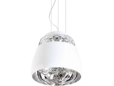 VALENTINE-Suspension Cristal/Métal Ø21cm