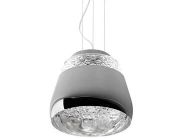 VALENTINE-Suspension Cristal/Métal Ø36cm