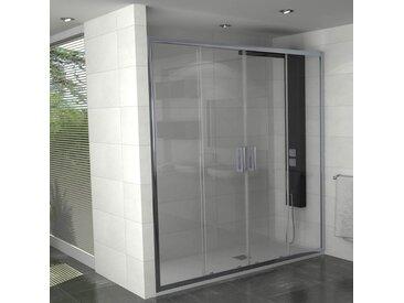 Paroi de douche coulissante 160 cm - Manhattan