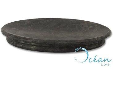 Porte-savon oval en Marbre noir