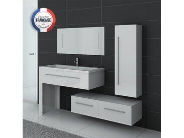 Meubles salle de bain DIS9251B Blanc