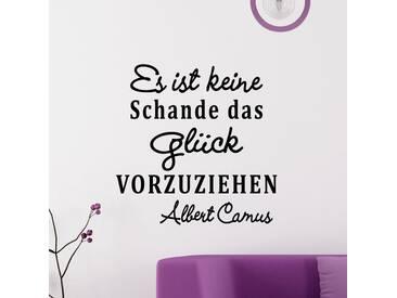Sticker Es ist keine schande – Albert Camus