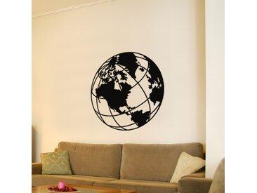 Sticker Desing globe terrestre