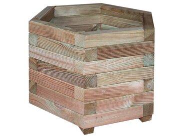 Jardinière hexagonale Jonquille 50