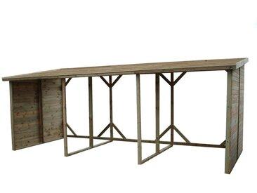 Abri bûches - Comparez et achetez en ligne   meubles.fr 08fc6bbd65a6