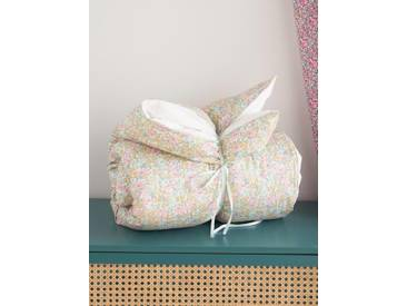 Housse de plumon tissu Liberty liberty poppy and daisy/pois d