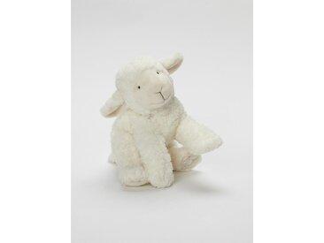 Peluche agneau ivoire