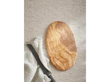Planche à découper en bois d'olivier naturel
