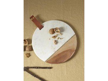 Planche à découper marbre/bois
