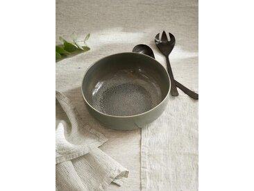 Saladier en céramique gris