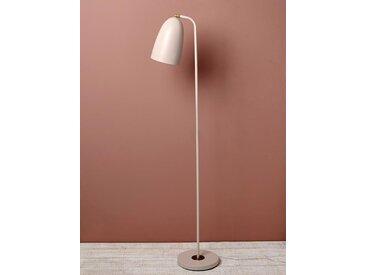 Lampe liseuse en métal rose pâle