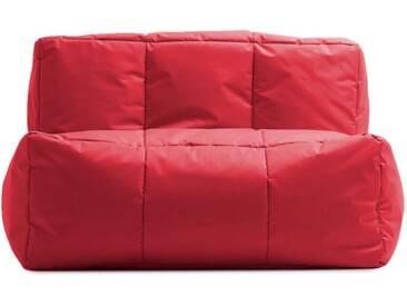 Fauteuil dextérieur en tissu TYRON de UBAGS - Rouge