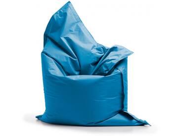 Pouf géant dextérieur en tissu BRADLEY de UBAGS - Bleu