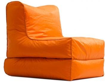 Chauffeuse dextérieur en tissu VIRGILE de UBAGS - Orange