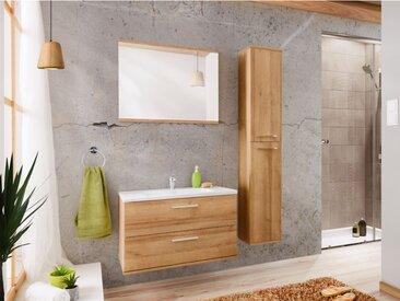Ensemble KAYLA - meubles de salle de bain - effet bois