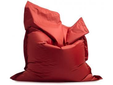 Pouf géant dextérieur en tissu BRADLEY de UBAGS - Rouge