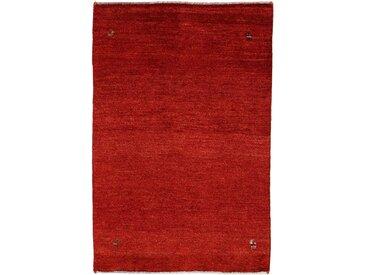 Tapis Persan Gabbeh Kashkuli 146x96 Rouille/Rouge Foncé (Laine, Perse/Iran, Noué à la main)