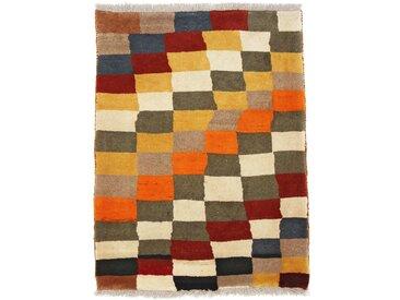 Tapis Persan Ghashghai 117x89 Ghashghai Marron Foncé/Orange (Noué à la main, Perse/Iran, Laine)