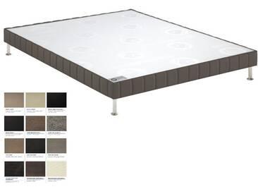 Sommier tapissier Bultex Confort Moelleux Morphologique 5 Zones 140x190