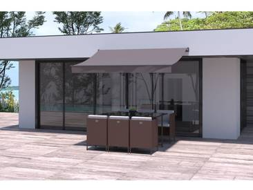Adro - Store banne taupe 2820 x 2050 mm