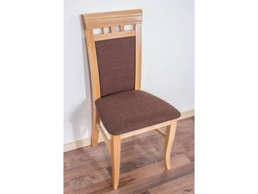 Chaise en bois d´hetre massif naturel « Junco » 249 – Dimensions: 98 x 48 x 50 cm
