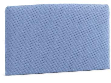 Tête de lit Dyla rembour, 150 cm bleu clair