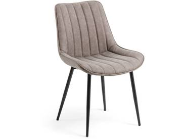 Chaise Janis, taupe