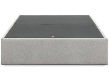 Sommier coffre Matter, 140x190cm gris
