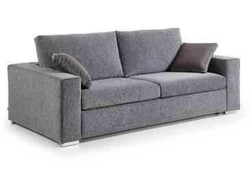 Canapé-lit Big 140 viscoelástique, gris chiné