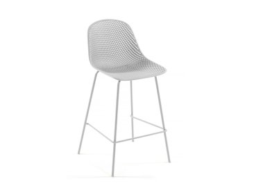 Tabouret Quinby blanc
