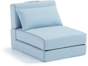 Chauffeuse Arty, bleu clair