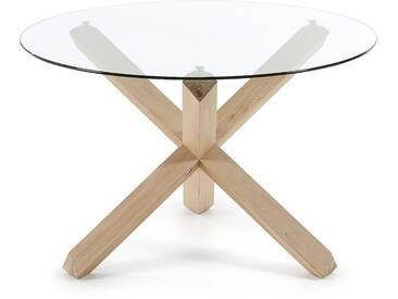 Table Lotus verre