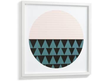 Tableau Bekko, cercle 53x53 cm